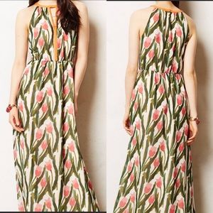 Anthro / Vineet Bahl Portia Floral Maxi Dress 4P